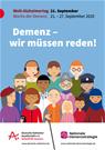 Demenz - wir müssen reden! - Aktion am 23. September