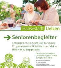 Deckblatt Flyer Seniorenbegleiter
